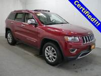 Used 2014 Jeep Grand Cherokee Limited 4x4 SUV in Burnsville, MN.