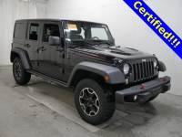 Used 2014 Jeep Wrangler Unlimited Rubicon 4x4 SUV in Burnsville, MN.