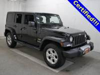 Used 2015 Jeep Wrangler Unlimited Sahara 4x4 SUV in Burnsville, MN.