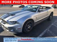 2010 Ford Mustang Shelby GT500 Rear-wheel Drive