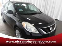 Pre-Owned 2012 Nissan Versa 1.6 SV (CVT) Sedan in Greensboro NC