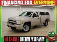 2008 Chevrolet Silverado 1500 Work Truck - LONGBED - CAMPER SHELL - SATELLITE R Truck Regular Cab
