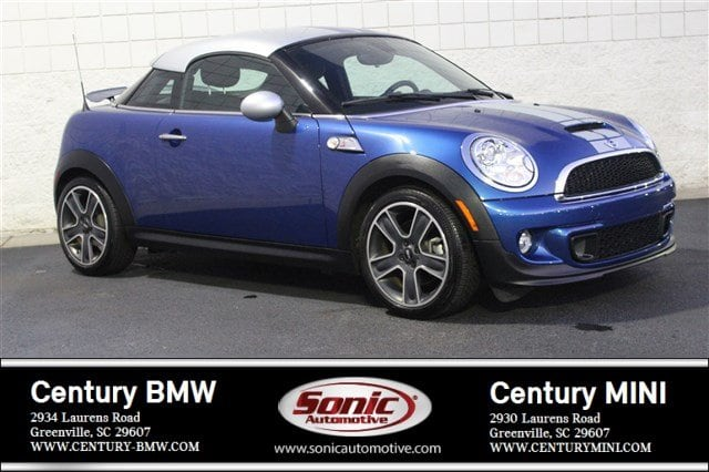 Photo Used 2013 MINI Coupe Cooper S Coupe Coupe in Greenville, SC