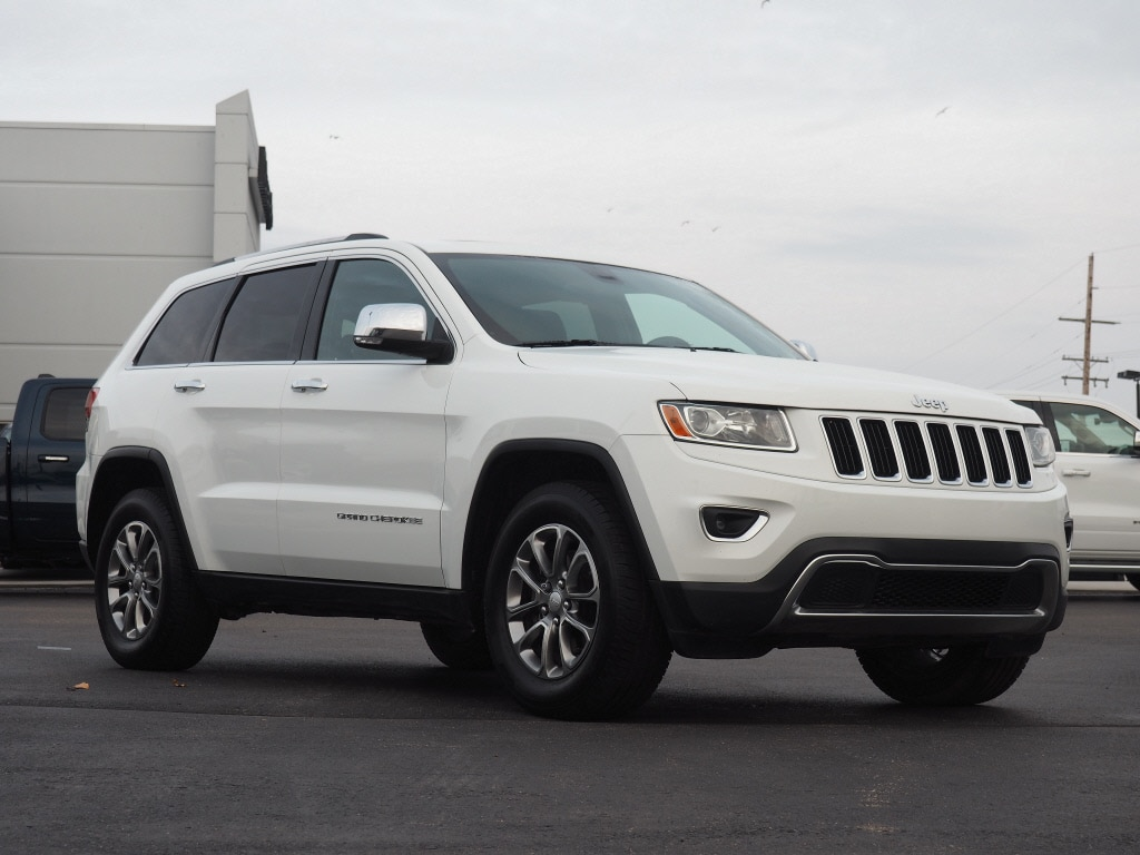 Photo Used 2014 Jeep Grand Cherokee Limited 4x4 Limited SUV in Woodhaven, MI