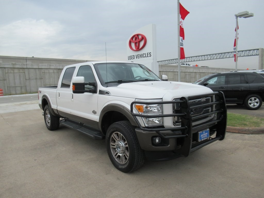 Photo Used 2016 Ford F-250SD King Ranch Truck 4WD For Sale in Houston