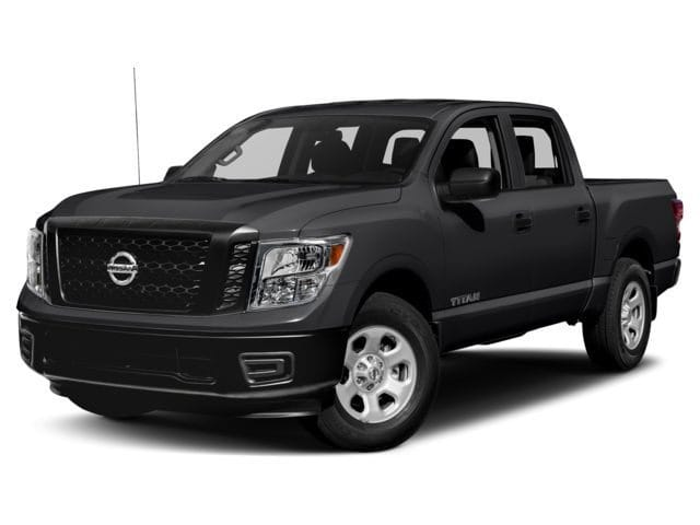Photo Used 2018 Nissan Titan PLATINUM RESERVE 4X4 W UTILITY BED PACKAGE CC