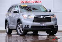 Certified Pre-Owned 2015 Toyota Highlander XLE V6 SUV in Dublin, CA