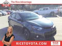 2016 Toyota Corolla S Premium Sedan Front-wheel Drive