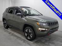 Used 2017 Jeep New Compass Trailhawk 4x4 SUV in Burnsville, MN.