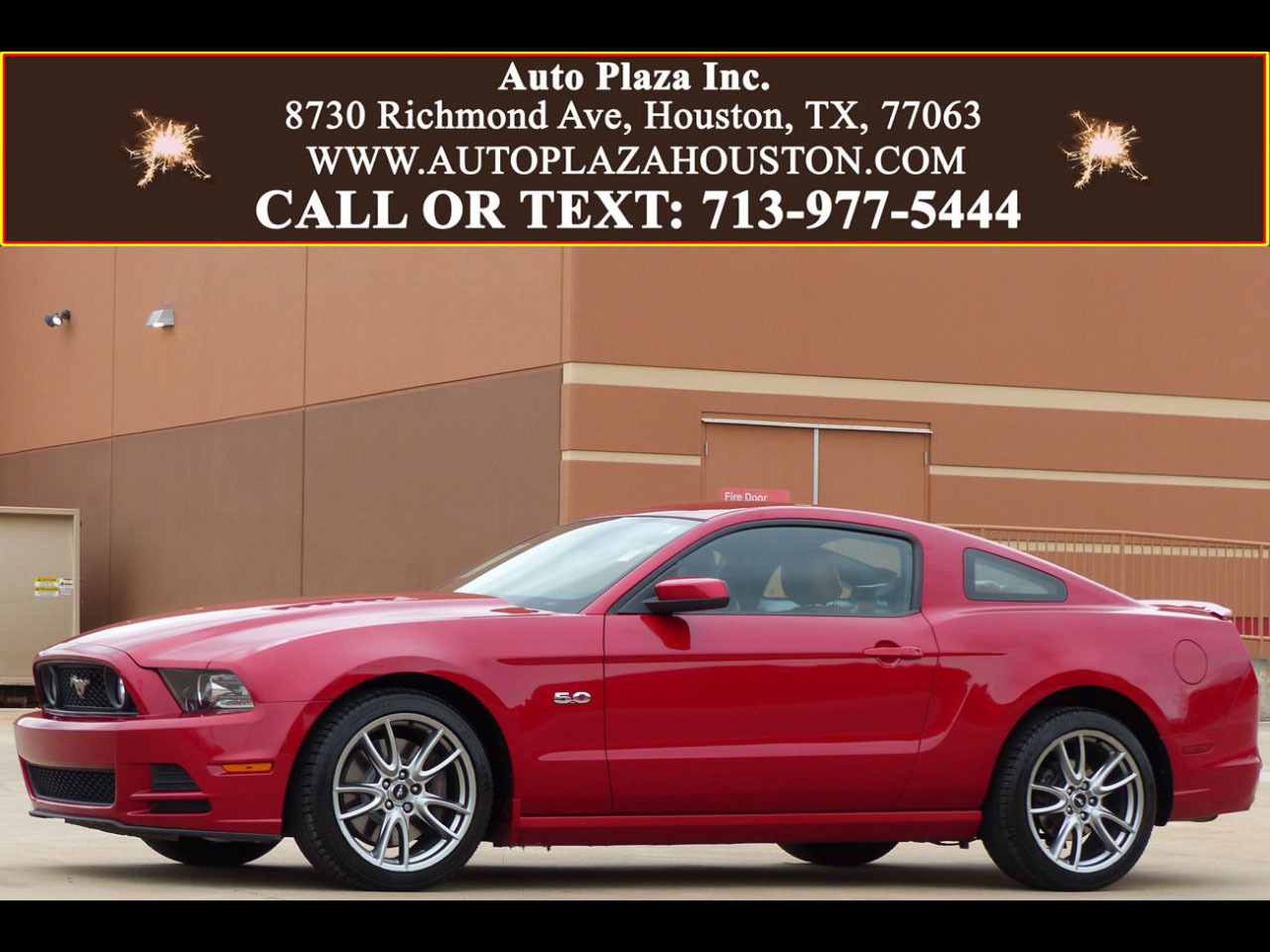 Photo 2013 Ford Mustang GT Premium Coupe