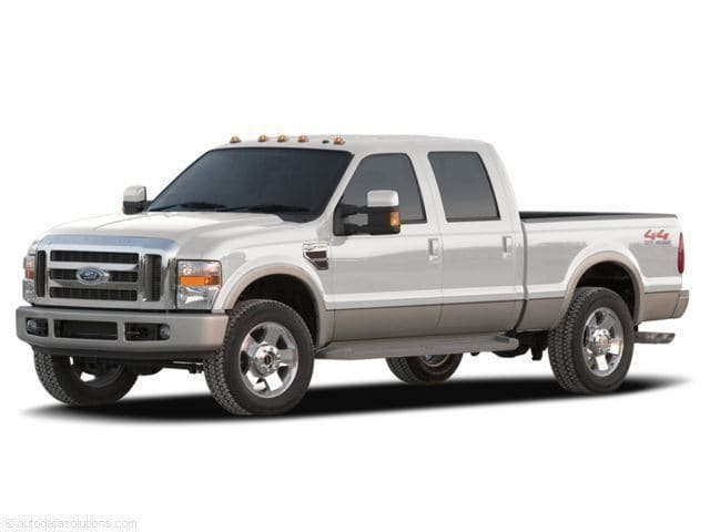 Photo Used 2008 Ford Super Duty F-250 SRW CREW,XLT,4X4,V10 for Sale in Waterloo IA
