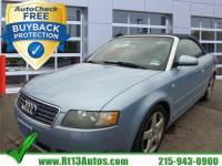 2005 Audi A4 3.0L New top