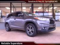 2016 Toyota Highlander XLE V6 SUV FWD For Sale in Springfield Missouri