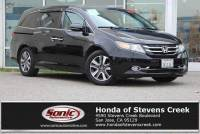 Pre-Owned 2015 Honda Odyssey Touring Elite with DVD Rear Entertainment System and Navigation