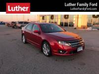 2012 Ford Fusion 4dr Sdn Sport AWD Sedan 6