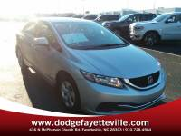 Pre-Owned 2015 Honda Civic LX in Charlottesville VA