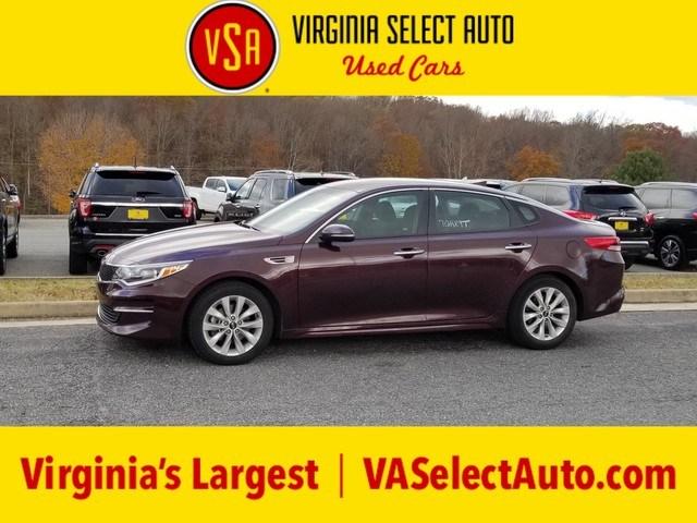 Photo Used 2017 Kia Optima LX Sedan for sale in Amherst, VA