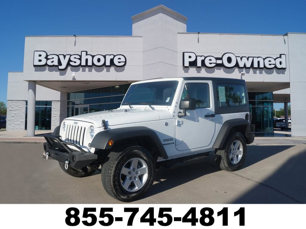 Photo 2017 Jeep Wrangler JK 4WD Sport 4x4 SUV in Baytown, TX Please call 832-262-9925 for more information.