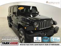 Certified Used 2016 Jeep Wrangler JK Unlimited Sahara 4x4 SUV in Toledo