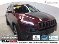 Certified Used 2015 Jeep Cherokee Trailhawk 4x4 SUV in Toledo