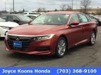Used 2018 Honda Accord LX Sedan for sale in Manassas VA