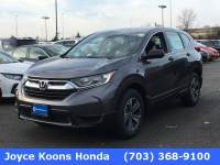 Used 2018 Honda CR-V LX AWD SUV for sale in Manassas VA