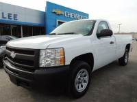 Pre-Owned 2011 Chevrolet Silverado 1500 Regular Cab Long Box 2-Wheel Drive Work Truck VIN 1GCNCPEX1BZ291053 Stock Number 25174A