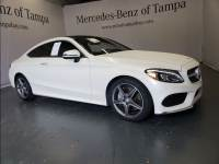 Certified 2017 Mercedes-Benz C-Class C 300 Coupe in Tampa FL