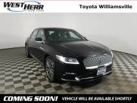 2018 Lincoln Continental Select Sedan For Sale - Serving Amherst