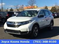 Certified Used 2018 Honda CR-V LX AWD SUV for sale in Manassas VA