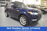 2016 Land Rover Range Rover Sport 3.0L V6 Supercharged HSE SUV in Lynnfield
