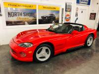 1993 Dodge Viper -RT 10-REMOVABLE TOP AND WINDOWS-5400 ORIGINAL MILES-VIDEO