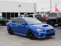 Pre-Owned 2015 Subaru WRX 4dr Sdn CVT Limited AWD