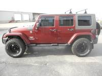 2010 Jeep Wrangler JK Unlimited Sahara 4x4