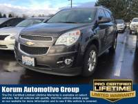 Used 2013 Chevrolet Equinox LT SUV 4-Cylinder SIDI DOHC for Sale in Puyallup near Tacoma