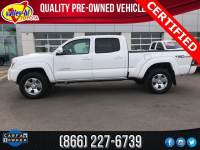 Certified Pre Owned 2015 Toyota Tacoma Prerunner Truck Double Cab for Sale in Victorville near Barstow