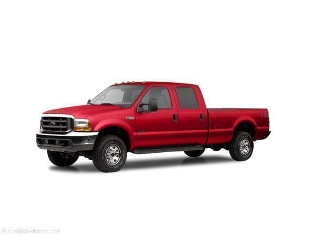 Photo Used 2003 Ford F-250 XLT Truck Crew Cab