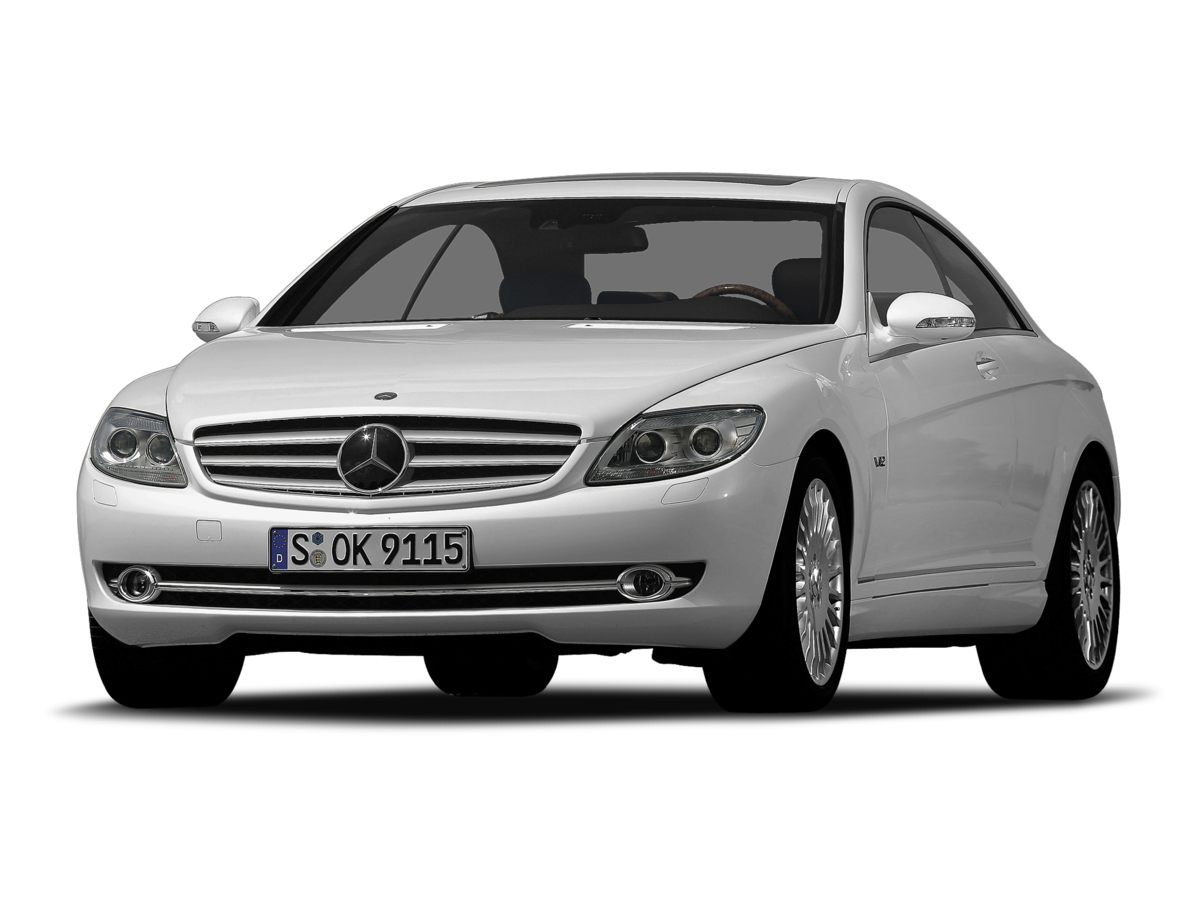 Photo Pre-Owned 2008 Mercedes-Benz CL-Class CL 600 RWD 2D Coupe