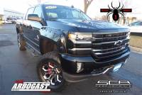 Pre-Owned 2017 Chevrolet Silverado 1500 Black Widow Lifted Truck 4WD