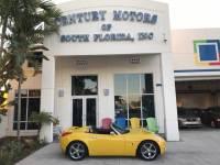 2007 Pontiac Solstice Automatic Cloth Seats 1 Owner Rear Spoiler