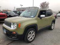 Used 2015 Jeep Renegade Limited SUV in Bowie, MD