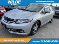 Certified Pre-Owned 2015 Honda Civic Hybrid 4DR SDN L4 CVT FWD 4dr Car