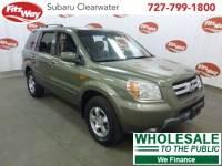 Used 2008 Honda Pilot for Sale in Clearwater near Tampa, FL