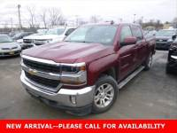 Used 2016 Chevrolet Silverado 1500 LT Truck Crew Cab 4WD for Sale in Stow, OH