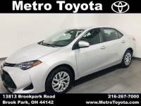Certified Pre-Owned 2018 Toyota Corolla LE in Brook Park, OH Near Cleveland