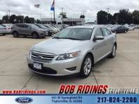 2011 Ford Taurus SEL w/Moonroof & Leather Sedan V-6 cyl