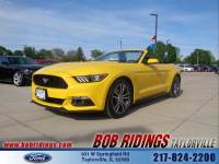 2017 Ford Mustang Ecoboost Premium w/Nav Convertible I-4 cyl