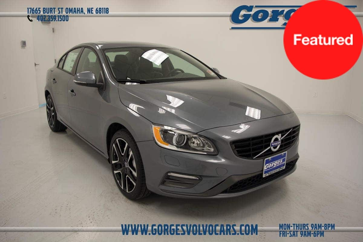 Photo Certified Used 2017 Volvo S60 T5 AWD Dyna T5 AWD Dynamic Sedan For Sale in Omaha