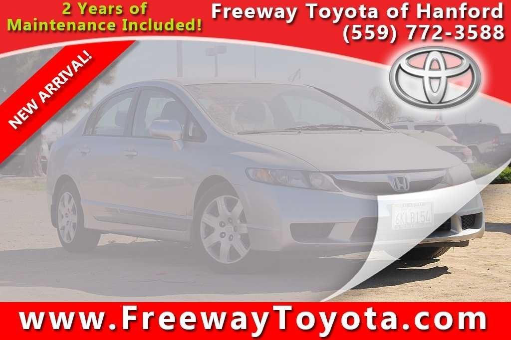 Photo 2009 Honda Civic LX Sedan Front-wheel Drive - Used Car Dealer Serving Fresno, Tulare, Selma,  Visalia CA