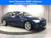 2016 BMW 535i xDrive Sedan near Boston